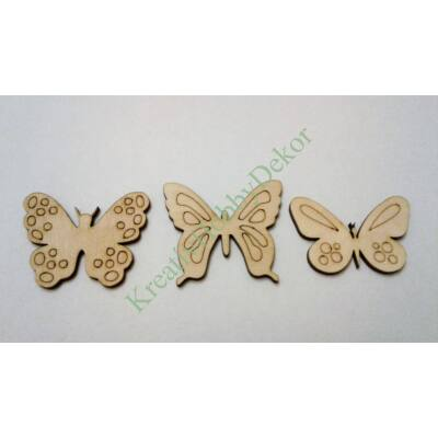 Pillangók dekor kellék