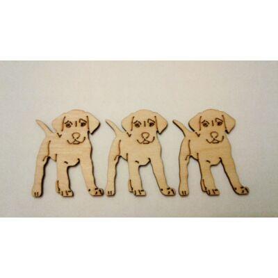 Vizsla kutya dekor kellék