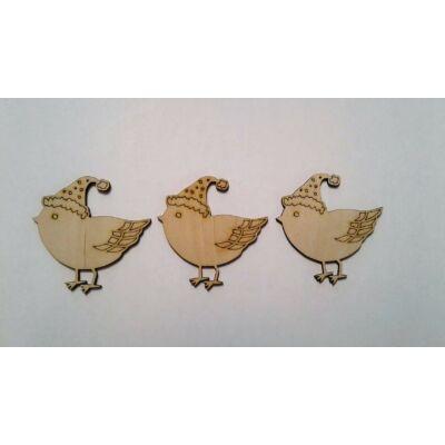 madaras dekoráció, téli dekor kellék