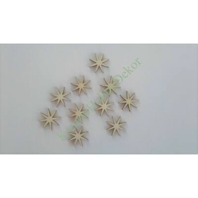 csillagvirág dekor, dekorvirág