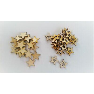 dekor csillag, fa csillag, dekor kellék