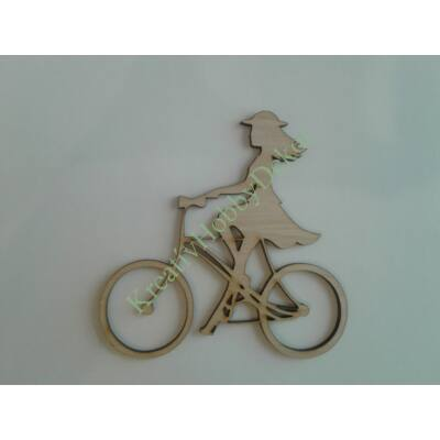 biciklis dekor