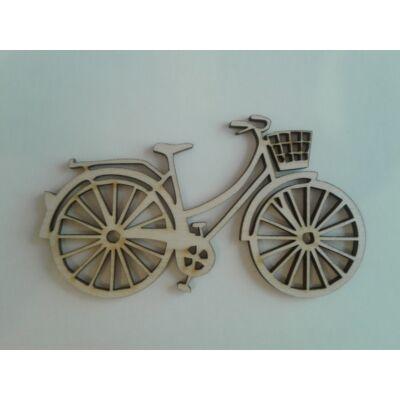 bicikli dekor kellék fa