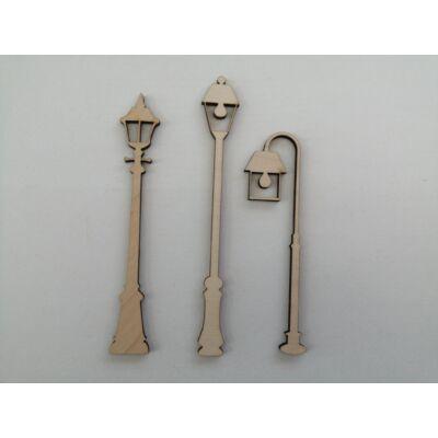lámpa dekor kellék, fa lámpa dekor