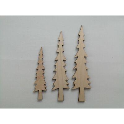 fenyő dekor kellék, fa fenyő