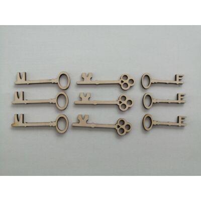 kulcs dekor, kulcs figura, fa kulcs