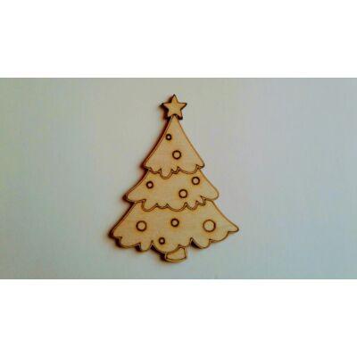 fa karácsonyfa dekor