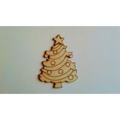 karácsonyfa dekor kellék