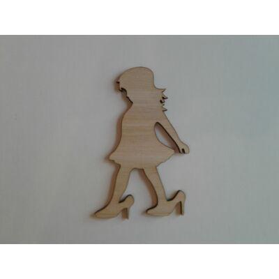 kislány dekor kellék, figura