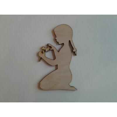 gyermek dekor figura