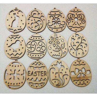 Húsvéti tojás dekor kellék