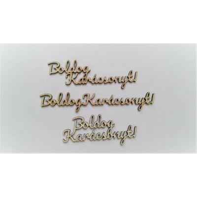 Boldog karácsonyz felirat