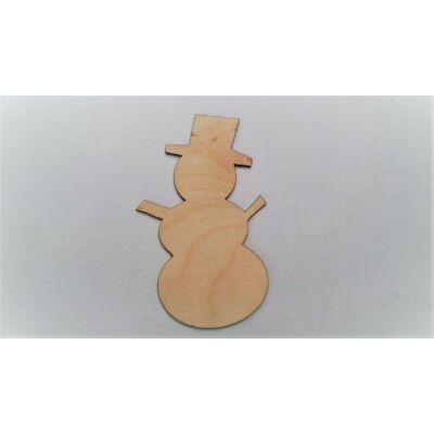 hóember figura, hóember dekor, téli dekor kellék