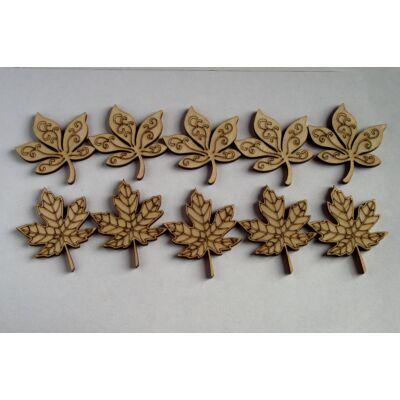 Falevelek fából dekor célra
