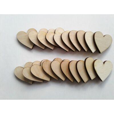 fa szívek dekorhoz