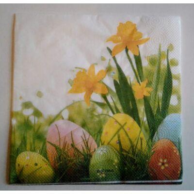 húsvéti dekupázs szalvéta