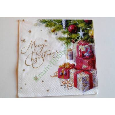 Merry Christmas szalvéta