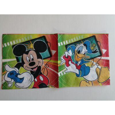 Mickey egés és Donald kacsa papírszalvéta