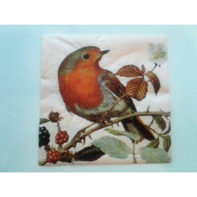 madaras őszi dekupázs szalvéta