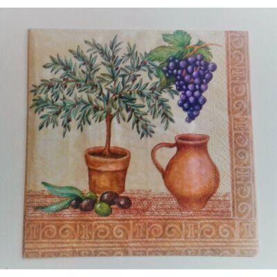 toscan dekupázs szalvéta