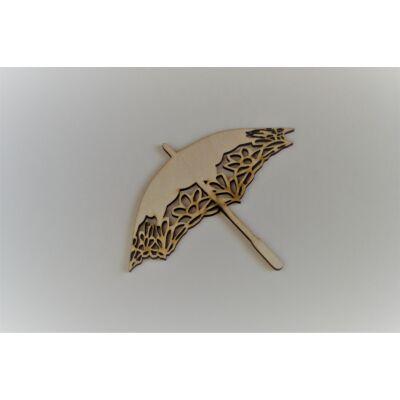 Ernyő, napernyő fafigura dekorációs célre