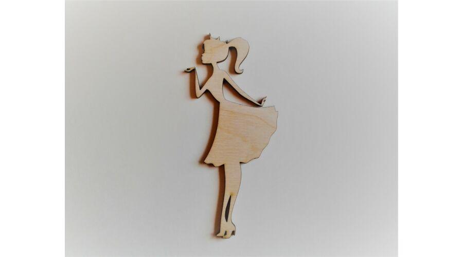 Puszit küldő nő dekor kellék - KreatívHobbyDekor webáruház 6f91f049ea